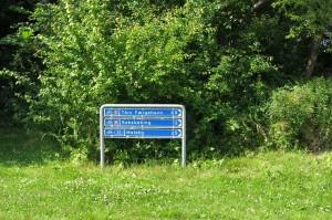 Danish signposting. Photo: Jesper Pørksen