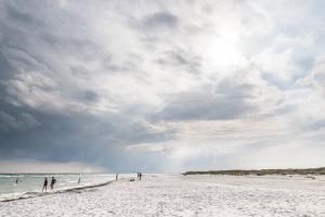 Dueodde. Wide, white sand, a lovely viking dip. Photo: Michael Hammel