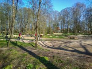 Cycling playground